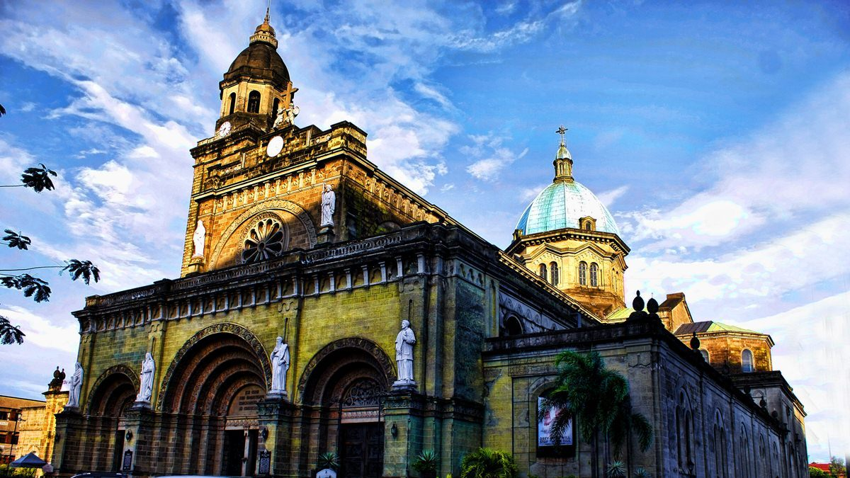 Tour du lịch Philippines - Manila-Cathedral