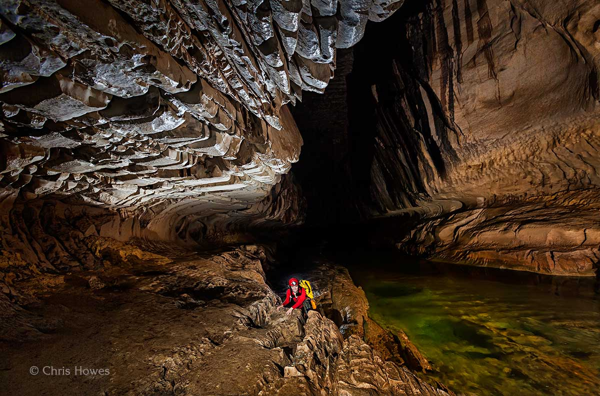 Judith Calford, Clearwater Cave, Mulu national park, Malaysia